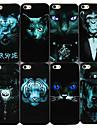 Non-mainstream Animals Series Case Voltar para iPhone4/4S (cores sortidas)