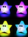 Star Rotocast Color föränderliga Night Light (Random färg)