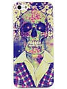 Skull Body in Shirt Print Case for iPhone 4/4S