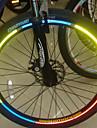 Bicicleta Jantes Luminosos Adesivos refletivos (Cores Assortted)