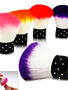 1PCS colorido Sova pincel Rosto Maquiagem Nail Art Ferramenta Cosmeticos (cor aleatoria)