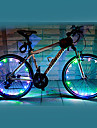 FJQXZ 18 LED 2 Modes Colorful Cycling Wheel Light - 1 PC