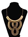 Femme Colliers Declaration Serpent Cuir Mode Or Argent Bijoux Pour Soiree