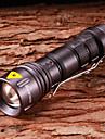 LED Lommelygter / Lommelykter LED 5 Modus 800 Lumens Justerbart Fokus / Vandtaet Cree XR-E Q5 14500Camping/Vandring/Grotte Udforskning /