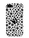 Собака Ноги Жесткий кожи чехол для iPhone 4/4S
