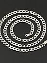 Женский Ожерелья-цепочки Нержавеющая сталь Титановая сталь Мода Бижутерия Свадьба Для вечеринок Повседневные 1шт