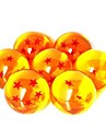 Anime DragonBall 7 Stars Crystal Ball Set of 7 pcs Dragon Ball Z Balls Complete set 3cm