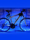FJQXZ 18 LED 2 Modes Blue Cycling Wheel Light - 1 PC