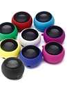 HB-68 Mini Hamburger Portable Sphere Speaker (Assorted Color)