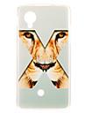 Kinston Eyes of X Tiger Pattern TPU Soft Back Cover Case for Google LG Nexus 5