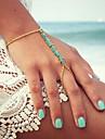 Shixin® Fashion Handmade Resin Golden Charm Bracelet(1 Pc)