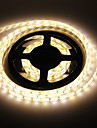 Waterproof luz branca quente 5M 60W 60x5730SMD 7000-8000lm 3000-3500K LED Strip Light (DC12V)