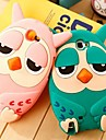 Roumang Heirs Cartoon 3D Owl Silicone Case for Samsung Note 2 N7100