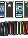 Pour Coque iPhone 6 / Coques iPhone 6 Plus Antichoc Coque Coque Integrale Coque Armure Dur PolycarbonateiPhone 6s Plus/6 Plus / iPhone