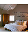 стены наклейки жизни слова цитирует украшения дома jiubai ™ настенную наклейку