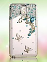 Diamond Butterfly Back Cover Case for SAMSUNG Galaxy S5 I9600