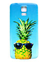 Cool Pineapple Pattern Thin Hard Case Cover for Samsung Galaxy S5 I9600