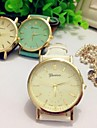 Women Watch Roman Numerals Quatz Geneva Watch Assorted Colors D0077