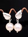 Super Cute Angel Wings of Pearl Earrings