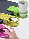 Creative Table Glass Clip Cup Holder Big Clip Kitchen Table Tableware (Random Color)3-pcs
