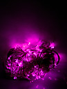 10m 100 LED Halloween Noel lumieres decoratives festive rose pale de guirlande lumineuse bande lumieres ordinaire (220v)
