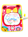 36*26.5*4cm Girls Bear Pattern Aquadoodle Water Drawing Board Magic Pen Novelty Toys