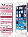 tampa de plástico padrão de design elegante para o iPhone 6