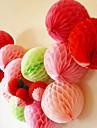 8-дюймовый сотовый папиросной бумаги цветок мяч (больше цветов)