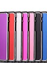 Solid Color Pattern Smooth Surface Brushed Metal Hard Back Cover for iPhone 6 (Assorted Colors)
