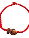 Chinese Red Classic Red String Bracelet with Cute Little Goldfish Jewelry Christmas Gifts