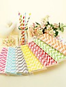 Striped Paper Straws(Set of 25)