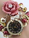 Women's Quartz Watch Rose Pearl Band Analog Bracelet Watch