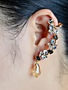 Ear Cuffs Rhinestone Glass Simulated Diamond Alloy Jewelry Wedding Party Daily Casual Sports 1pc