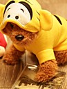 Dog Costume / Hoodie / Bandanas & Hats Yellow Spring/Fall Embroidered Cosplay / Halloween