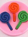 леденец помадкой торт шоколадный силиконовые формы торт украшение инструменты, l4.9cm * w4.9cm * h0.8cm
