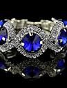 Fashion Round Crystal Tennis Bracelets(Hualuo Jewelry)