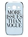 Meer Exemplaren Than Vogus patroon harde Case voor Samsung Galaxy I8262 Core