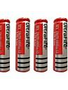 4PCS 18650 3.7V 6800mAh Lithium Ion  Battery