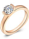 ROXI Swiss CZ To Girlfriend Gifts RING Beautiful Band Ring(1 Pc)