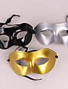 круто наполовину лицо пвх унисекс Halloween Party маска (случайный цвет)