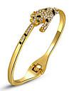 ROXI Christmas Gift Classic Women Leopard Bracelets,Genuine Austrian Crystals, Gold Platedbracelet,Chrismas