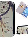 держать Dream Catcher шаблон PU кожаный полный чехол для корпуса с подставкой и слотом для карт Samsung Galaxy s4 i9500