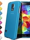 삼성 갤럭시 S5 미니에 대한 df® 0.3 mm 초박형 퓨어 컬러 케이스 (모듬 색상)