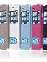 아이폰 6 더하기위한 TPU 새로운 스마트 럭셔리 플립 가죽 커버 (모듬 색상)