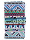 For Motorola Case Wallet / Card Holder / with Stand / Flip Case Full Body Case Geometric Pattern Hard PU Leather Motorola