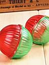 Игрушка для котов Игрушка для собак Игрушки для животных Шарообразные Скрип Расклешенные Пластик