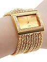 relogio de ouro bracelete de diamantes banda liga caso das mulheres elegantes personalizados