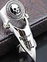 Кольца Для вечеринок / Повседневные Бижутерия Сплав Массивные кольца6 Серебряный