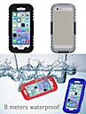 IP68 Waterproof  Protective Plastic and Silicone Shell Case for iPhone 6