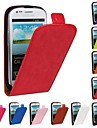 флип-Open лошадь зерна пу кожаный чехол для всего тела для Samsung Galaxy S3 мини i8190 (разные цвета)